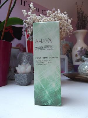 AHAVA Mineral Radiance Detoxikačná bahenná maska