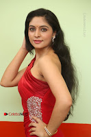 Actress Zahida Sam Latest Stills in Red Long Dress at Badragiri Movie Opening .COM 0047.JPG