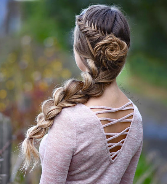 lovely updos hairstyles 3