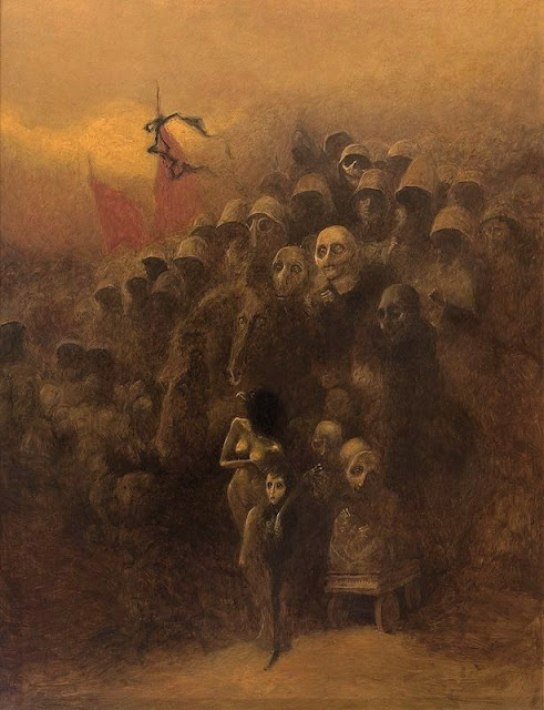 Zdzislaw Beksinski, pinturas, pictures, surrealism, dark art