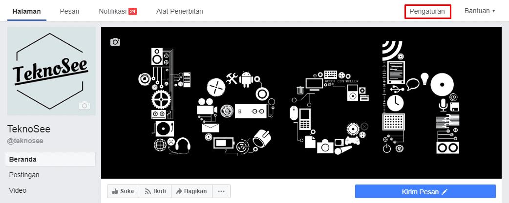 pengaturan halaman facebook
