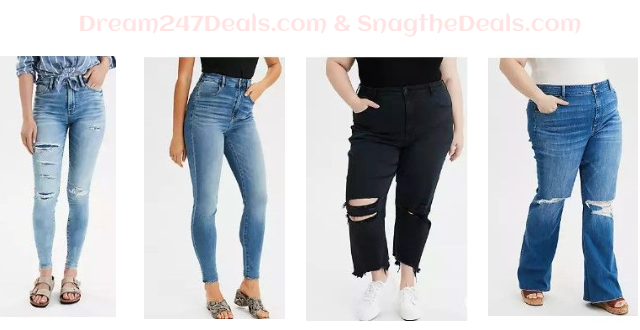 American Eagle Women's Jeans on clearance as low as $19.99