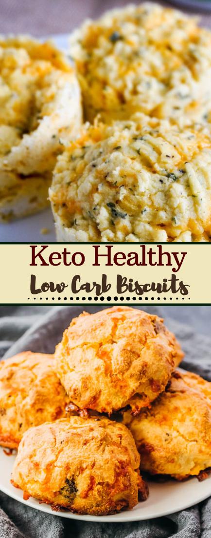 Low Carb Biscuits #healthyfood #dietketo #breakfast #food