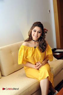 Actress Hansika Motwani Latest Stills in Yellow Dress  0004.jpg