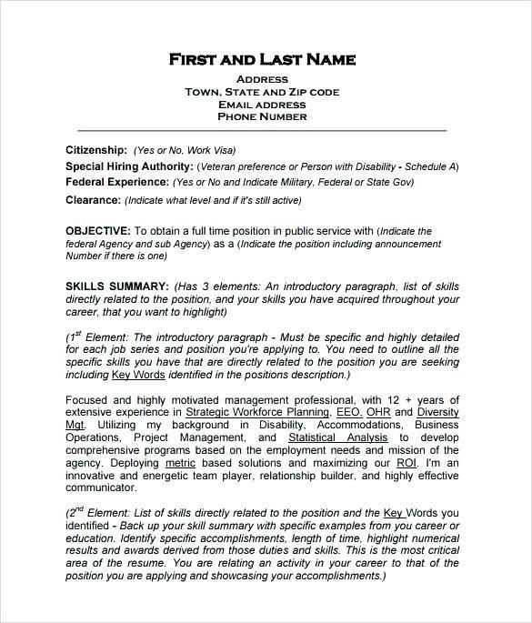 Government Resume Writers 2019 - Resume Templates