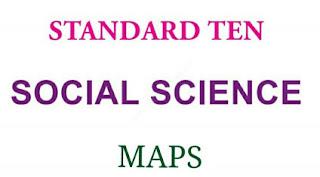 10th Std Social Science FULL BOOK (Vol-1,2) Map PPT &PDF