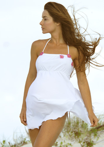 Sexy maternity swimsuit