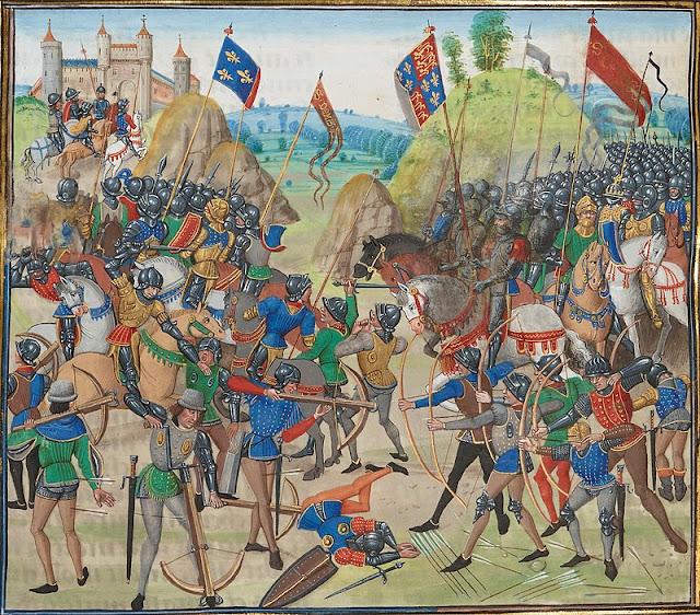 Défaite de l'armée française à Crécy