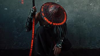 Warrior, Kneeling, Sword, Fantasy, 4K, #6.779
