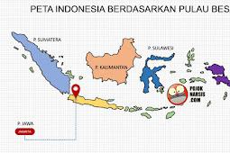 Template Peta Indonesia PPT HD (High Definition) atau High Resolution