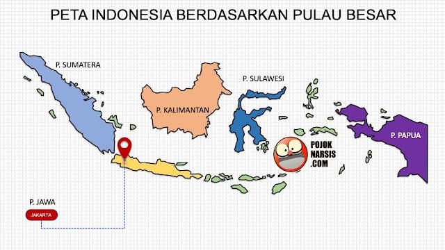 Peta Indonesia HD