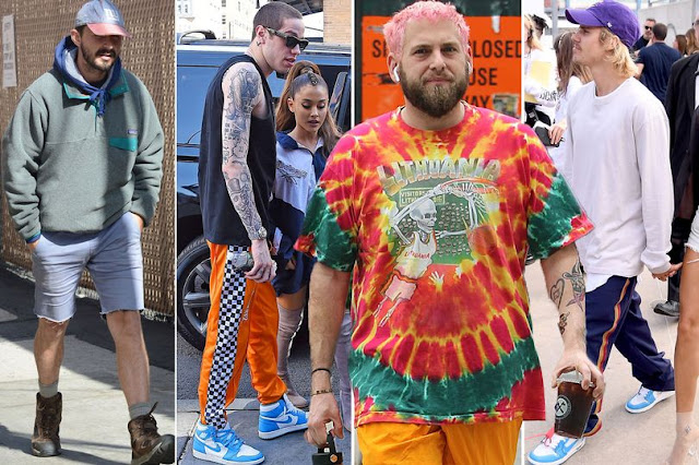 Top 4 Scumbro Icons: Shia LaBeouf, Pete Davidson, Jonah Hill and Justin Bieber. PYGear.com