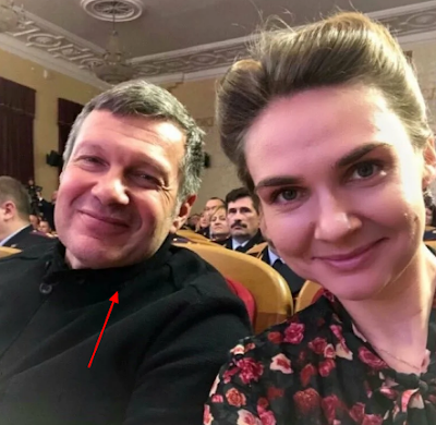 Shafran (Author of the book: «A State of Honour: Monarchy, Russia's Future.» & Soloviev - Photo
