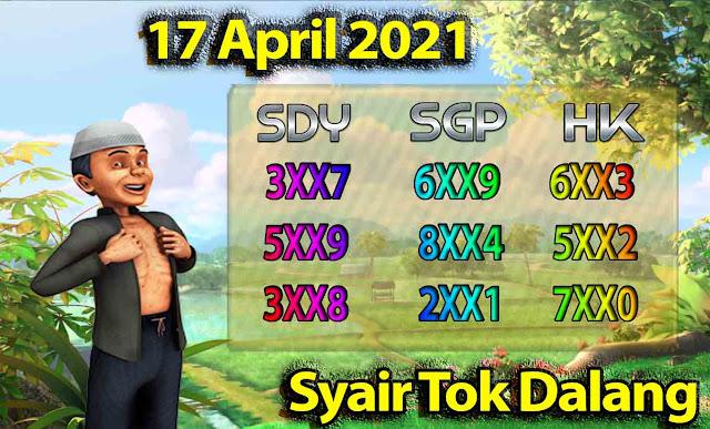 syair tok dalang 17-04-2021