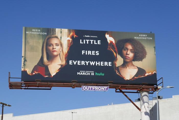 Little Fires Everywhere series premiere billboard