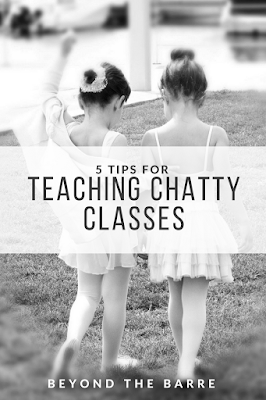 5 Tips For Chatty Classes
