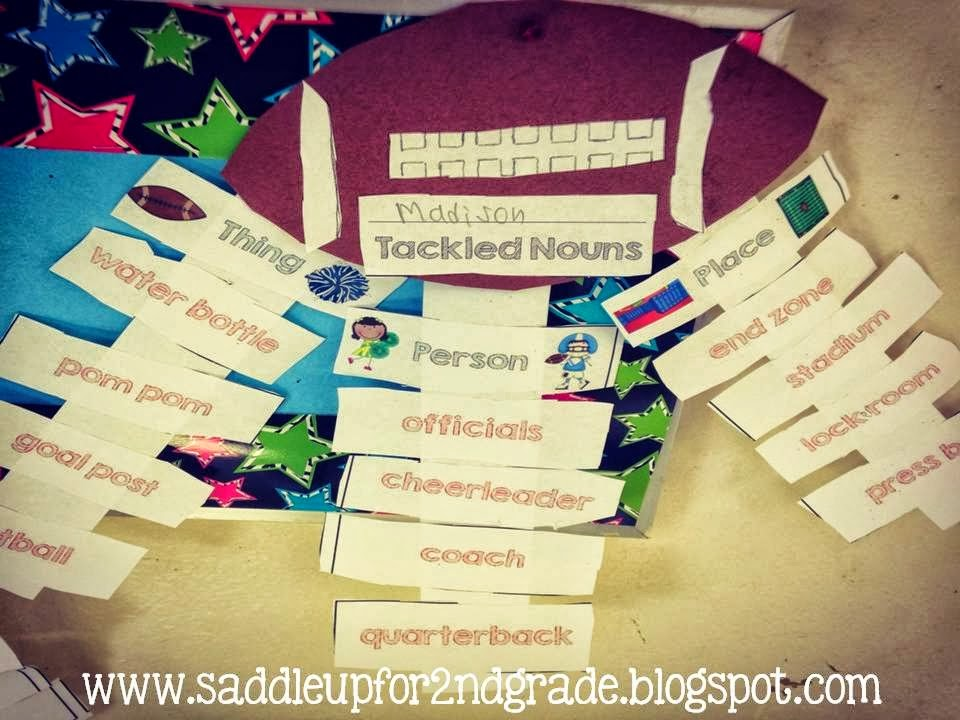 Let's Tackle Nouns Craftivity