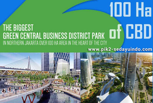 100 ha CBD PIK2 Sedayu Indo City