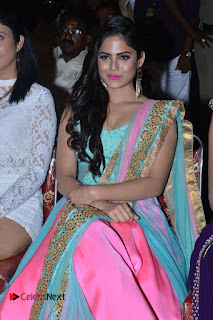 Actress Naina Ganguly Stills in Long Dress at Vangaveeti Audio Launch  0061.JPG