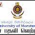 Vacancy In Institute Of Technology  University Of  Moratuwa