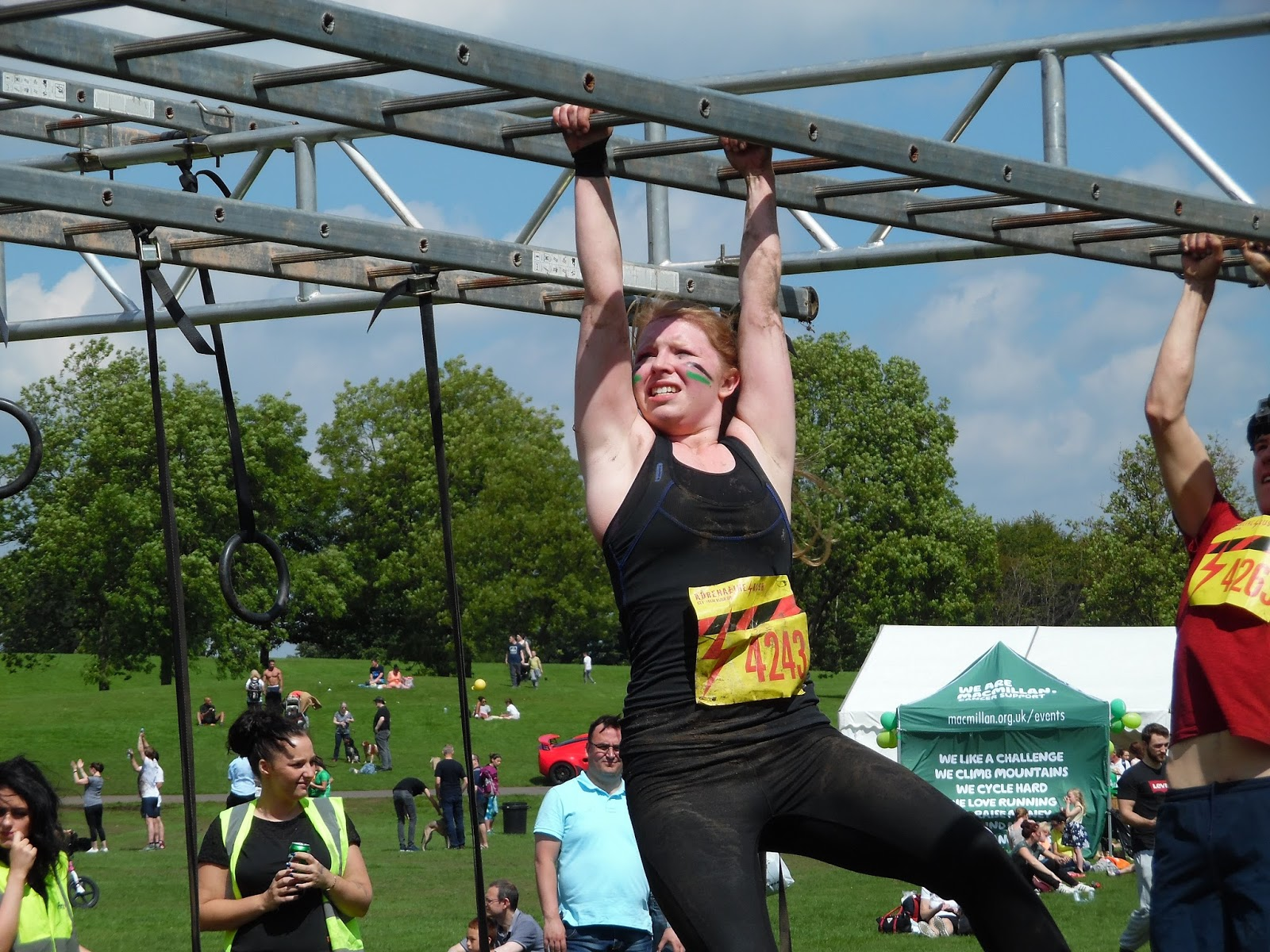 obstacle race, sport, olympics, gymnast, fitness, manchester, north west, heaton park, adrenaline rush