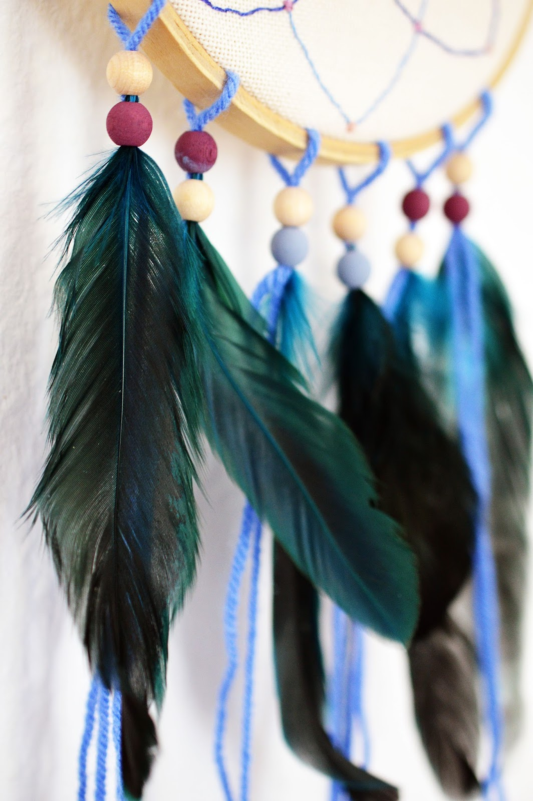 DIY Embroidery Hoop Dreamcatcher | Motte's Blog