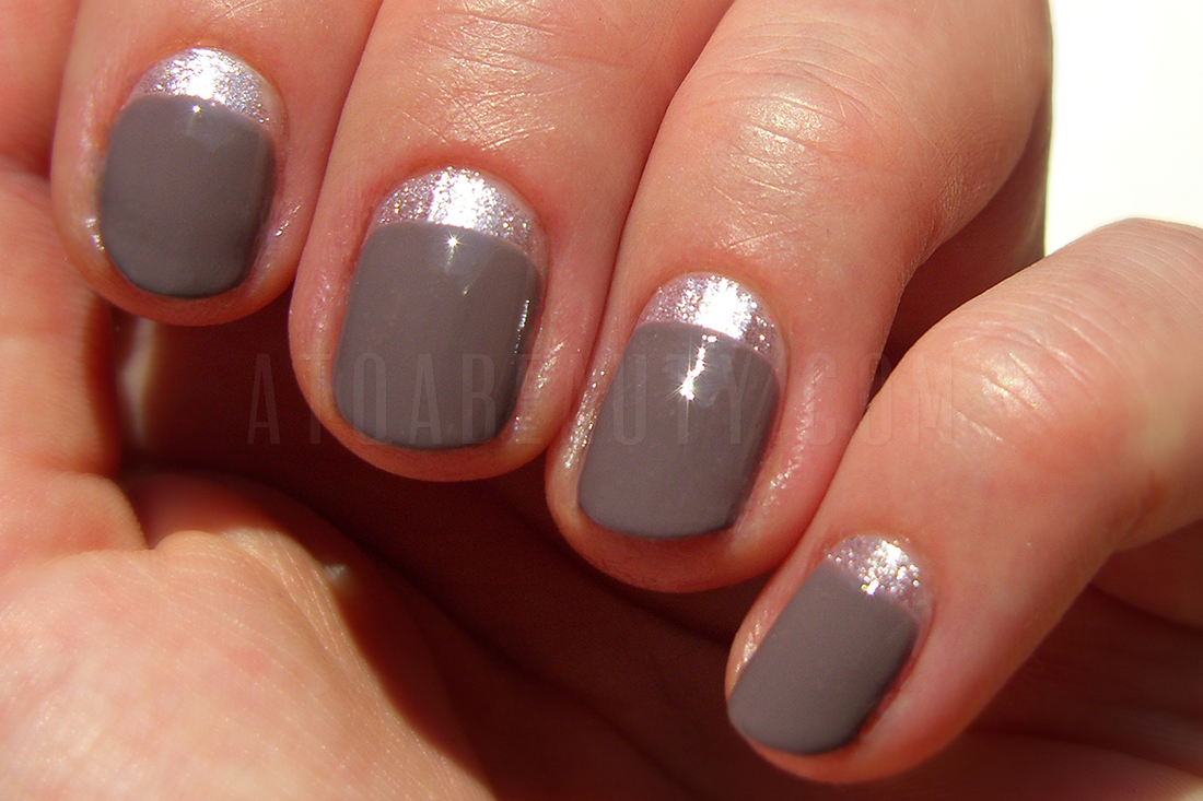 Sally Hansen Complete Salon Manicure Commander In Chic + Top Shop Twilight Tease
