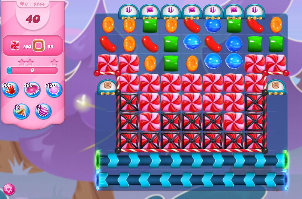 Candy Crush Saga level 9244