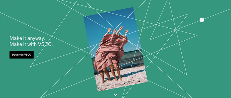 VSCO for iPhone and Android