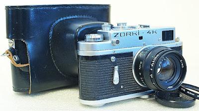Zorki-4K, Jupiter 8 50mm F2, Kit