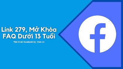 Mở khóa FAQ 13 Tuổi, Tên Giả, Mạo Danh Facebook Với Link 279