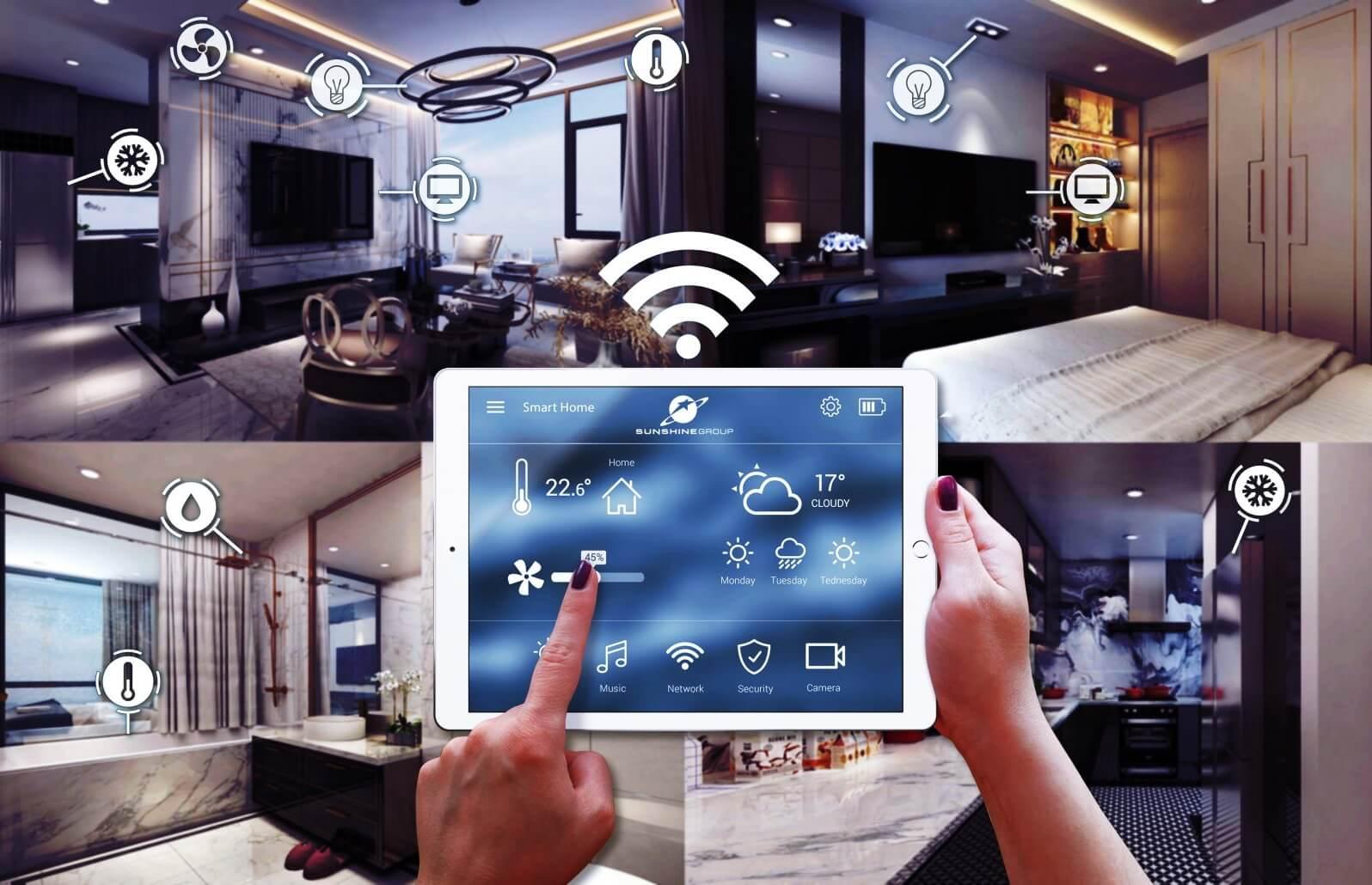 Công nghệ Smart Home của Sunshine Garden