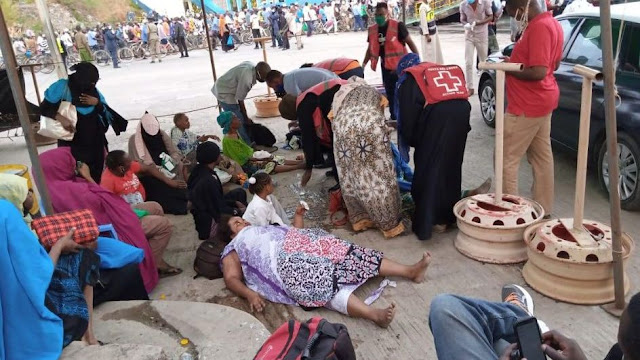 Dozen injured at Likoni Ferry Channel Stampede -Mombasa County