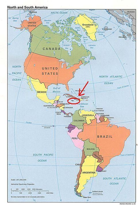 jamaica mapa Jamaica Mapa jamaica mapa