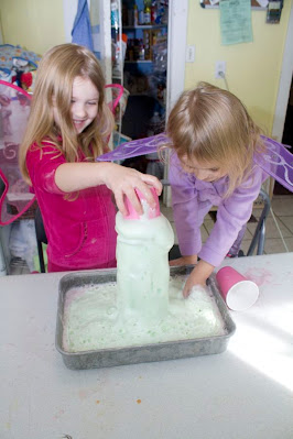 Fairy potion is science and sensory fun