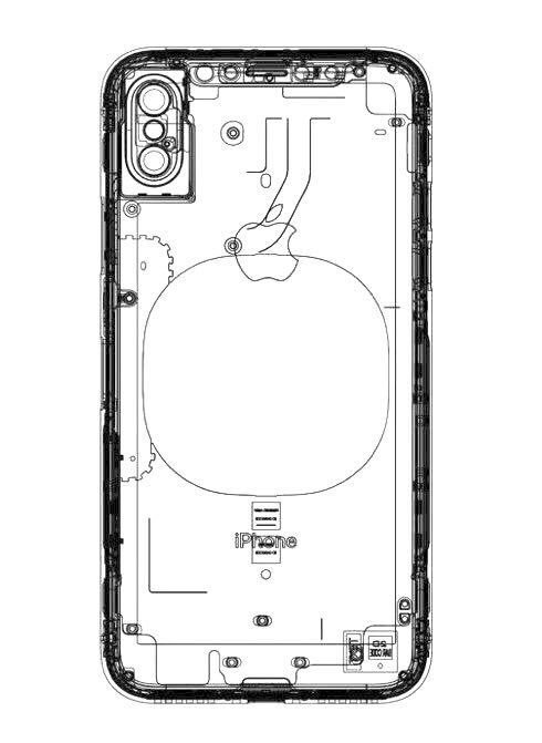 leaked iphone 8 schematic with vertical dual