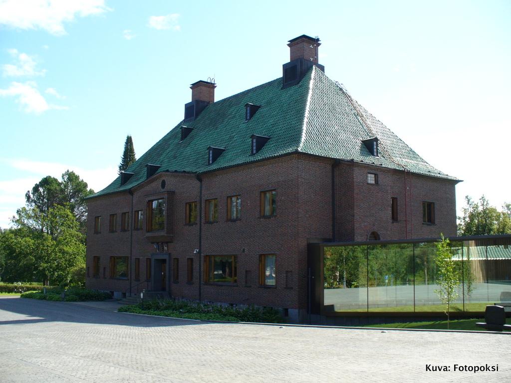 Gösta Serlachiuksen taidemuseo, Mänttä
