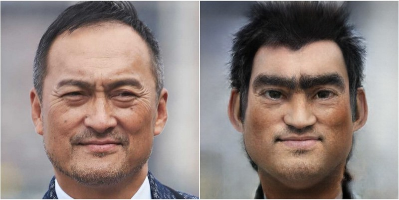 Ken Watanabe Transform into Disney characters using neural networks