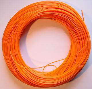 orange rotacane plastic basket cane