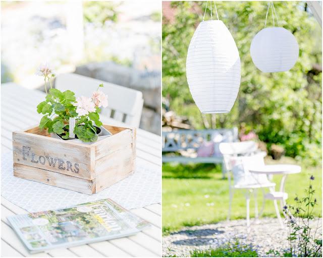 Sommerbepflanzung, Gartenimpressionen,Pomponetti