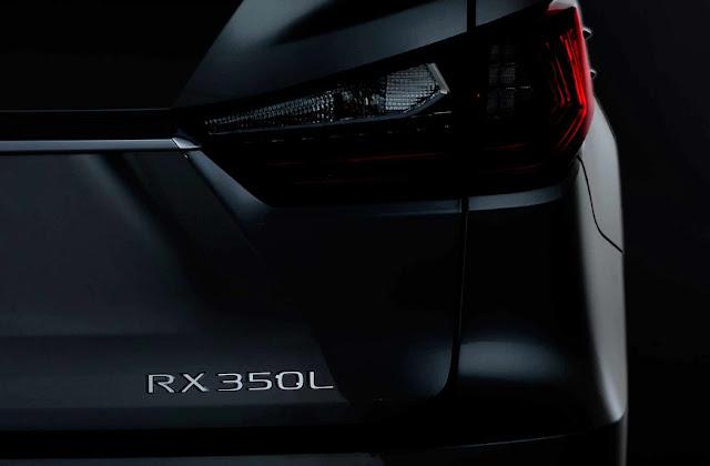 Презентация трехрядного Lexus RX 350L.