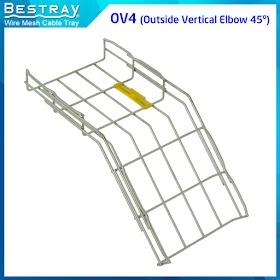 Bestray | Máng Cáp Dạng Lưới | Co, Tê | Co Xuống 45 Độ (OV4)