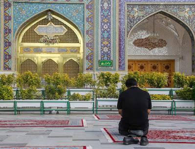 Fuente fotográfica Imam Reza