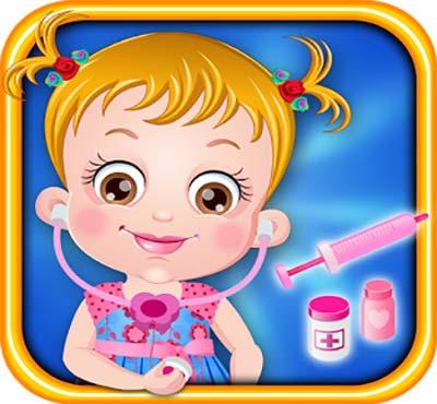 لعبة الطبيبة بيبي هازل Baby Hazel Doctor Play للموبايل والتابلت