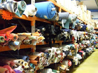magasin d'usine textile et tissus en aquitaine