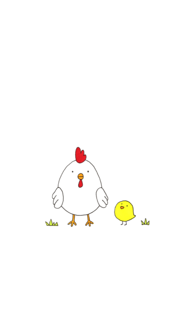 Chicken and chick & Egg
