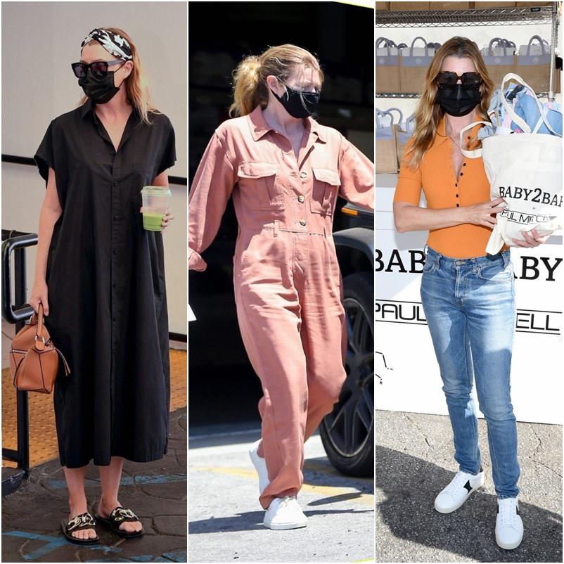 Moda para mulheres com 50 anos ou mais com Ellen Pompeo de Grey's Anatomy