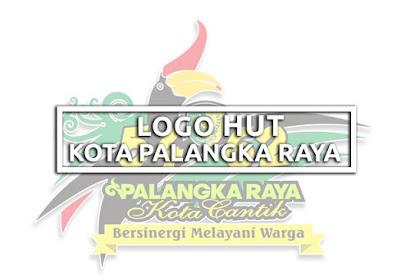 Logo HUT Kota Palangka Raya Tahun 2019