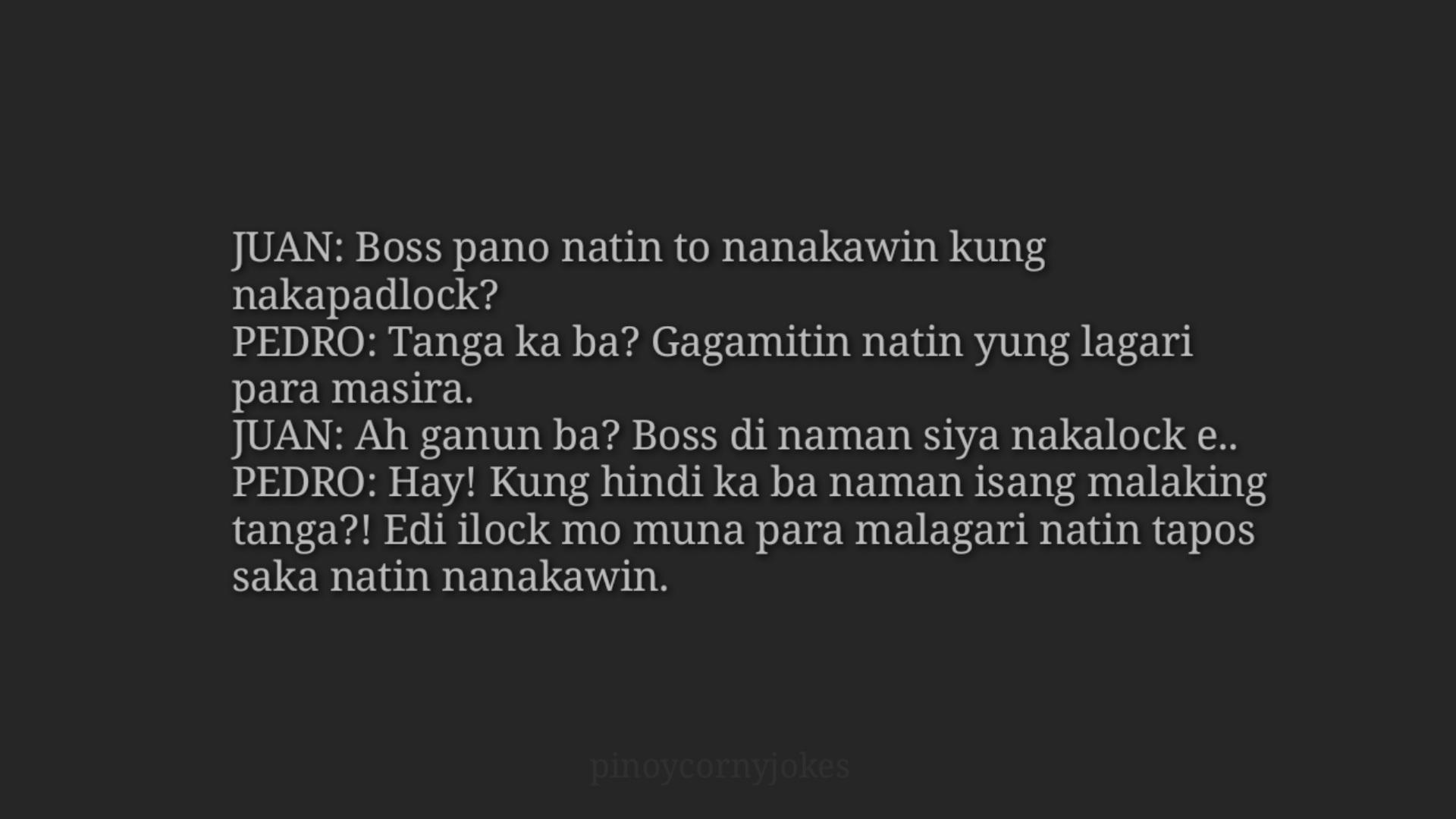 Magnanakaw - Best Tagalog Jokes