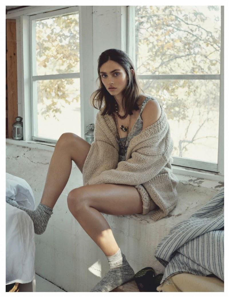 Krini Hernandez Featured for Vogue Magazine - Latinoamerica January 2020